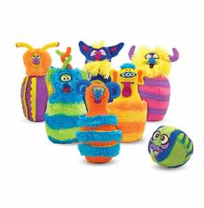 Melissa & Doug Monster Plush 6-Pin Bowling Game review