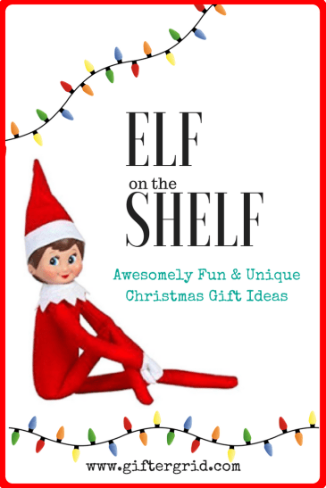 Pinterest Link for Elf On The Shelf Gift Ideas Page