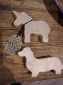 Gifter Grid Perfect Gift Idea for Babies - baby rattle, wooden