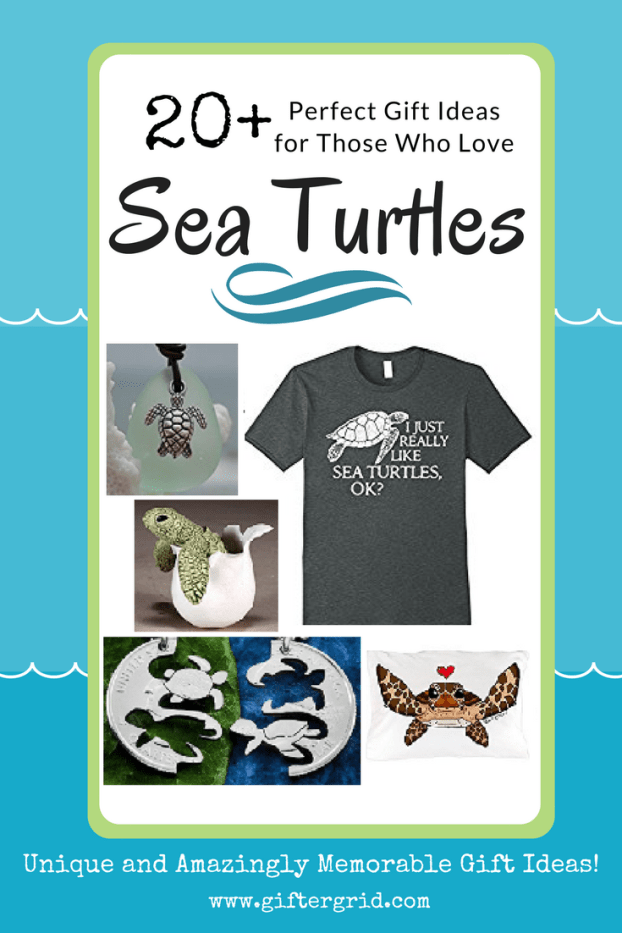 sea turtles, gift ideas, turtle themed gifts, beach, ocean and endangered animal themed gift ideas