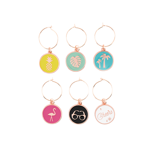 wine charms drinkware barware partyware wine party drinking charms cute gifts gift ideas gifting palm springs fun charms