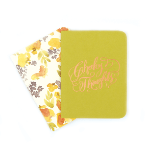 Antiquaria Cheeky Thought Pocket Jotter Notebooks Perfect Gift for Coworker perfect gift for best friend perfect gift for girlfriend perfect gift just cause
