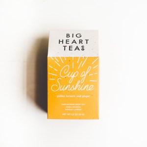 big heart tea cup of love tea turmeric tea loose tea gift for tea lover