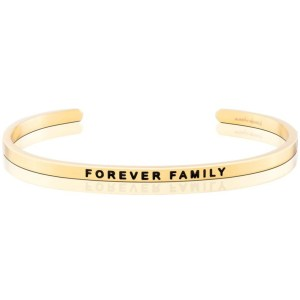 This sweet bracelet is the perfect gift to give your friend that just adopted a little one, or to your friends that have become family over the years. A charming way to represent the special relationship that's cemented in one's heart. forever family gold silver bracelet jewelry gifts for her