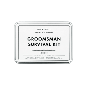 groomsman survival kit gift gifts gifting ideas happy birthday getting married
