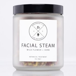 An herbal blend of nourishing botanicals that work to hydrate skin, along with purifying and cleansing pores. The aromatic essence makes this steam a calming and soul centering ritual for any spa lover, perfect to follow with a clay mask. A charming present to bring to a mother-daughter weekend, or a ladies' night in. spa day gifts for her gifts for him spa day love yourself