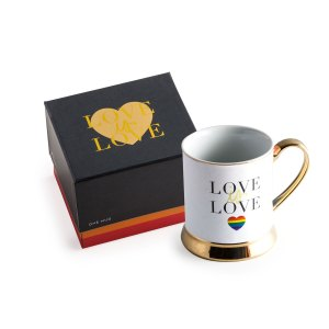love is love inclusive LGBTQ+ pride June birthday present gift gifting ideas coffee dark roast french roast morning joe