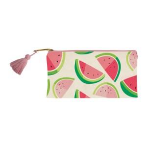 watermelon canvas bag trinkets pencil bag pencils pens belongings presents present gift gifting ideas