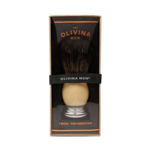 olivina shaving brush groomsmen gifts ivory luxury gifts for him father's day