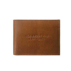 the Abrahams leather bifold trifold wallet gifts for him father's day gifts gifting ideas men's gift guide luxury