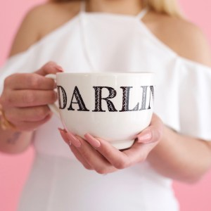 darling honey love sweetie coffee mug luxury coffee lover french roast dark roast espresso morning joe gift gifting ideas