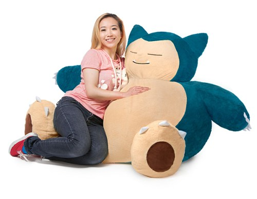 pokemon snorlax chair
