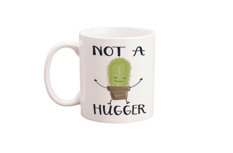 not a hugger mug