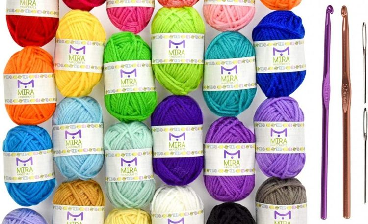 Knitting Yarn Set