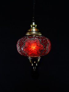 SINGLE CHAIN OVAL HANGING LAMP SIZE 3 (5)