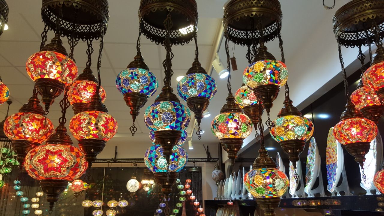 Mosaic Lamp | Turkish culture combined