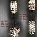 Hand Blown Glass Pendant Lamp Shades