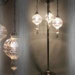 Floor Pyrex Glass Lamp