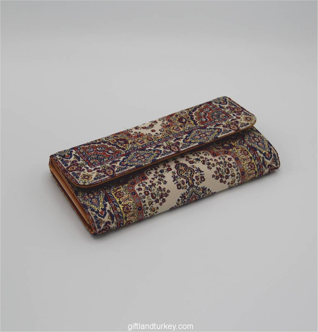 Turkish Carpet Design Wallet