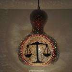 Handmade Horoscope Lamp