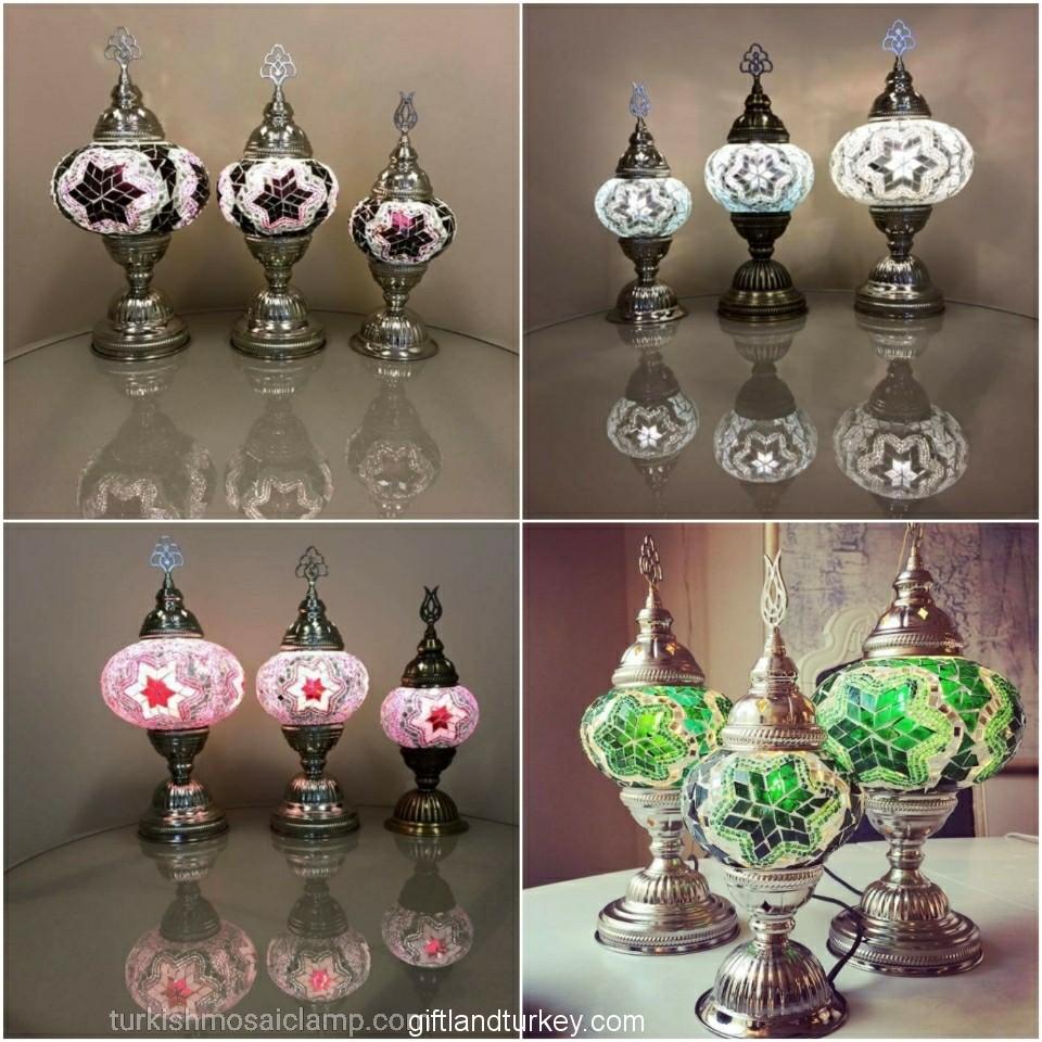 1-2-3 Wholesale Mosaic Lamp