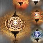 Mosaic Single Glass Lights