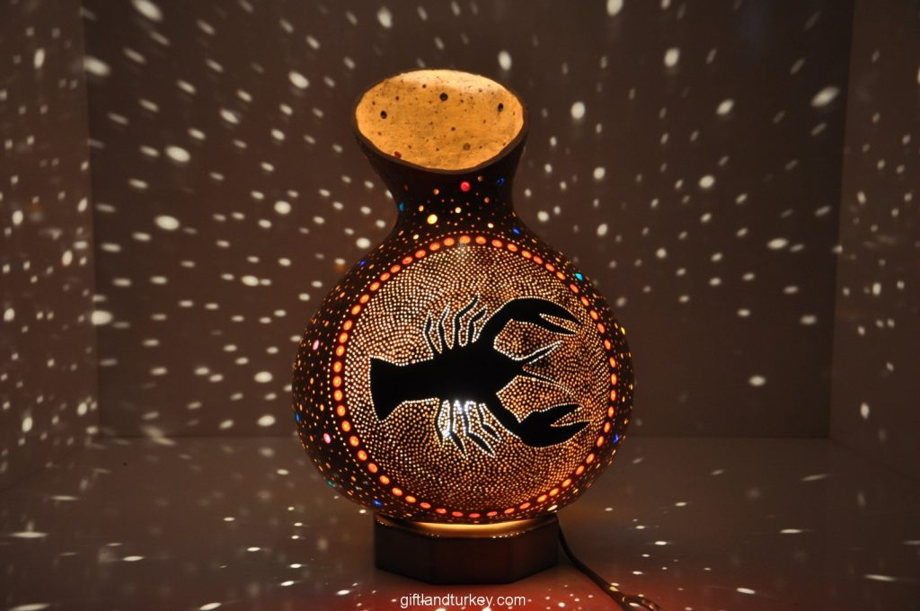 CANCER MOSAIC LAMP