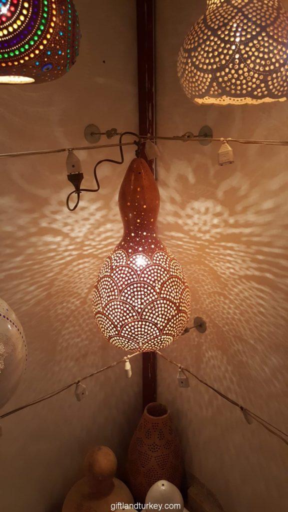 Qatar mosaic lamp