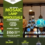 MOSAIC LAMPS WHOLESALE TOURNAMENT