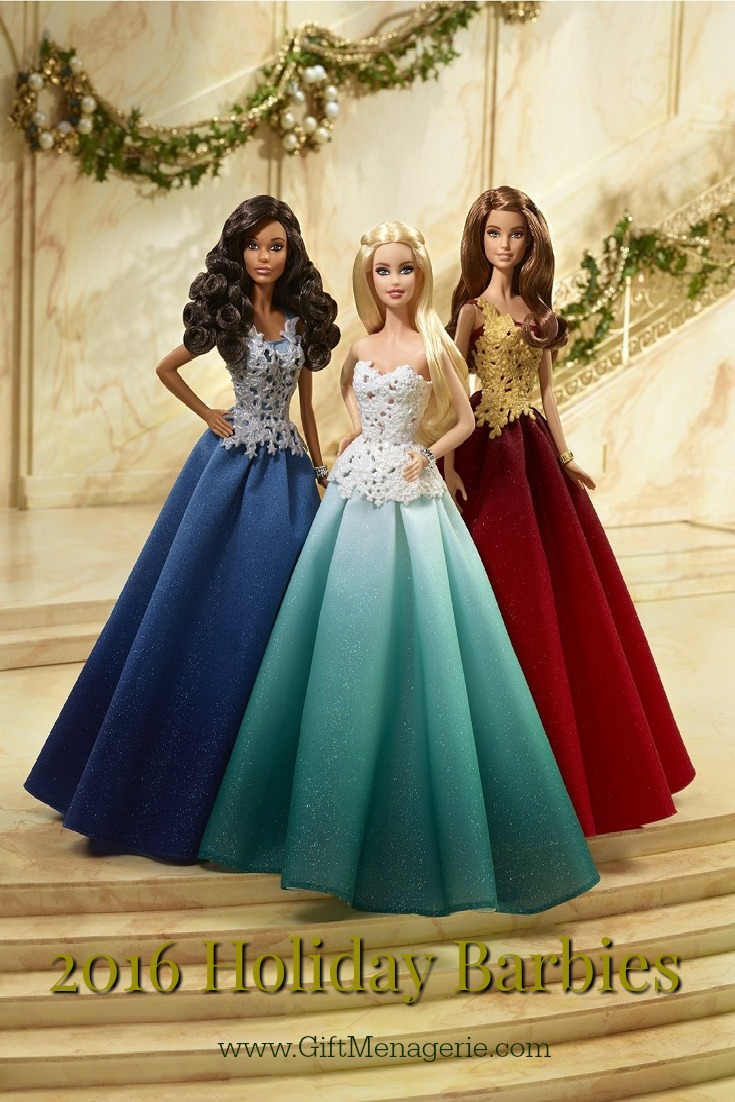 2016 Holiday Barbie Collection