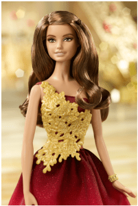 Holiday Barbies for 2016