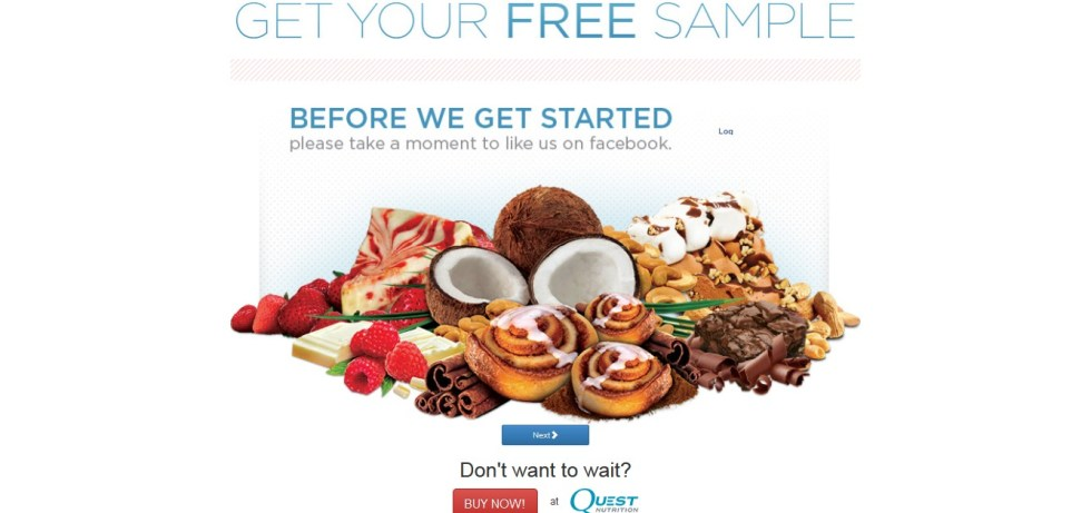 Free Quest Bar at Quest Nutrition USA2