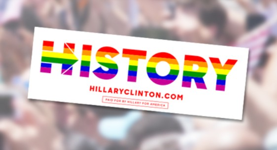 Get your free Hillary Clinton sticker