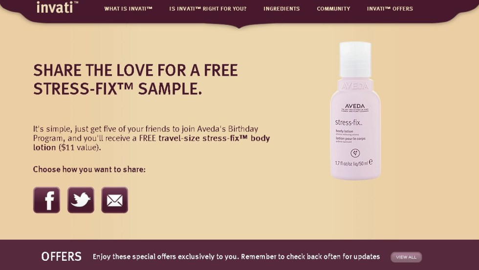 HAPPY BIRTHDAY TO THEM (AND A GIFT FOR YOU) at Aveda USA