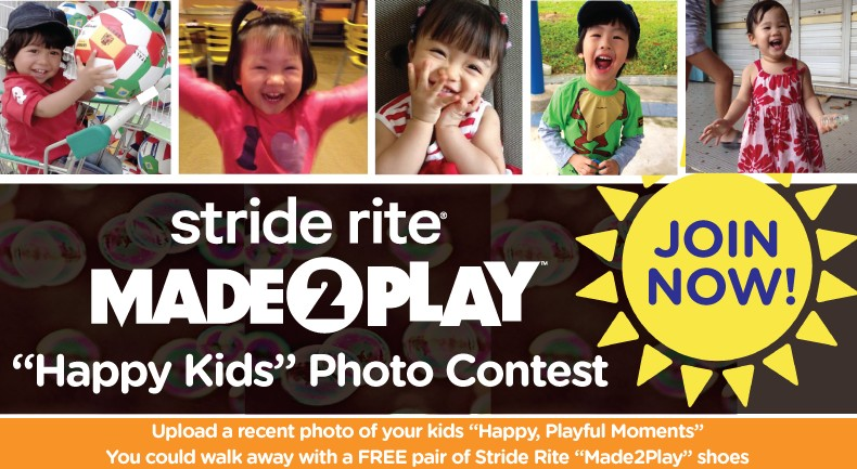 Stride Rite Singapore Made2Play Happy Kids Photo Contest