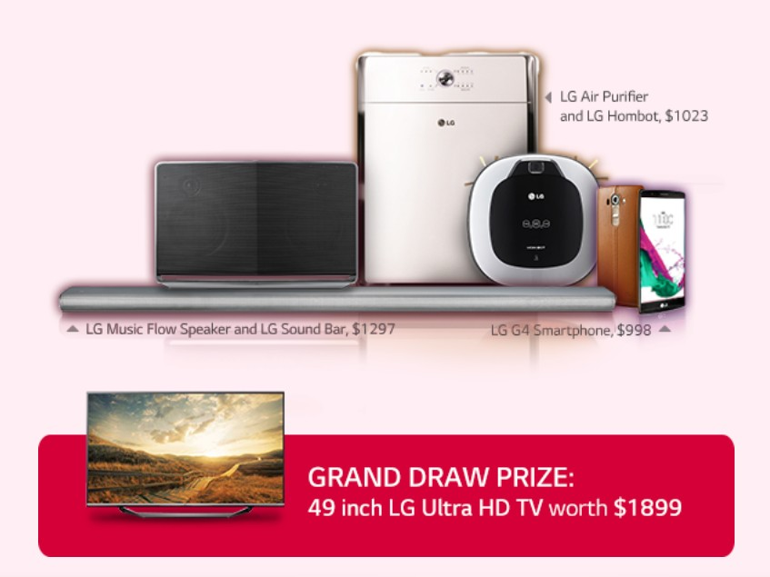 WIN a gift for you Dad this Father's day! With LG Singapore1