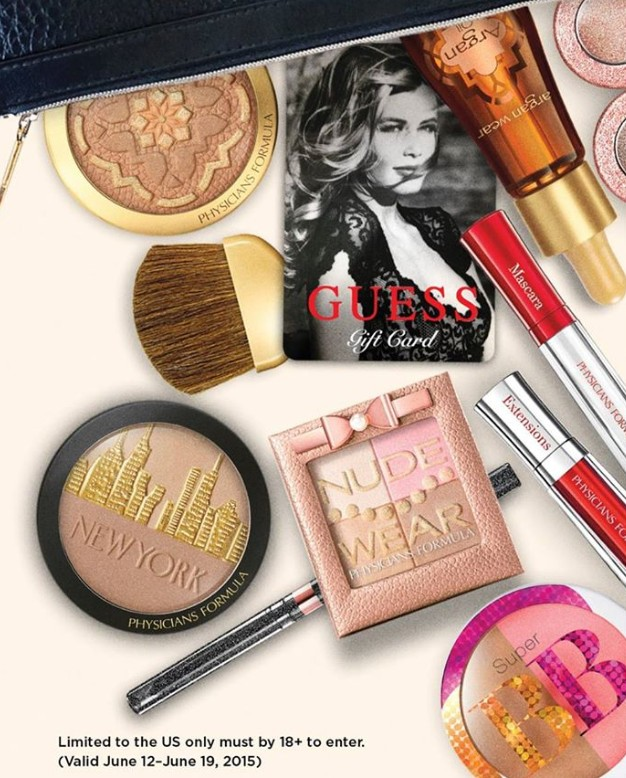 Win $150 worth of Glamorous Prizes at Physicians Formula USA1