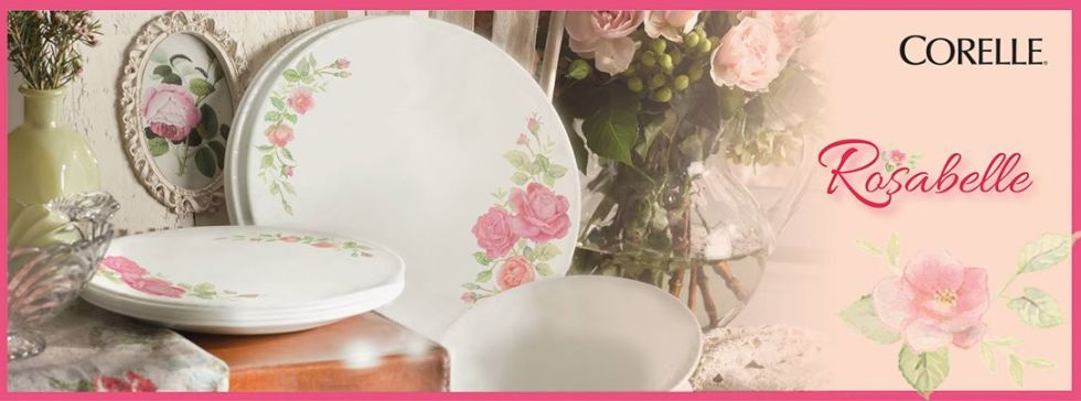 Win NEW Corelle Rosabelle Dinnerware Hamper worth RM320 banner