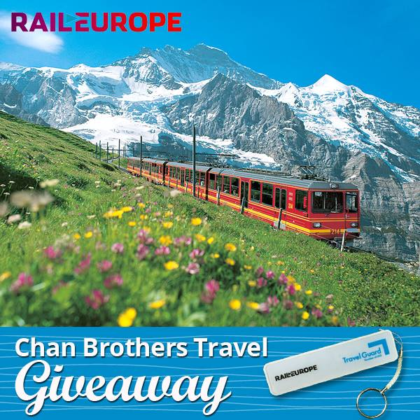 Win RailEurope Power Bank at Chan Brothers Travel Singapore 1