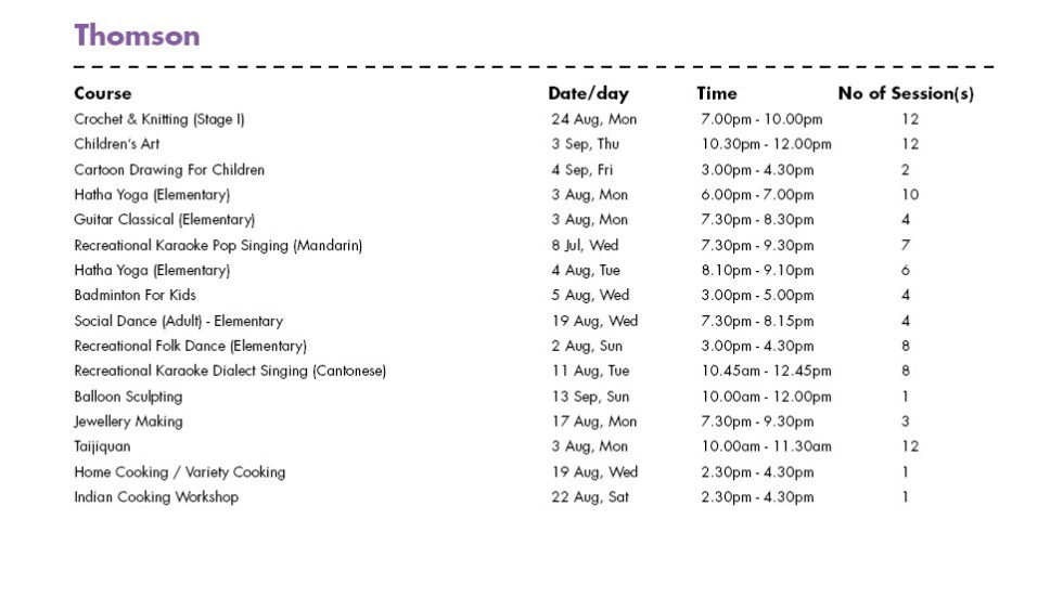 Celebrate SG50 & PA Community Day with Free Courses at Thomson CC Singapore