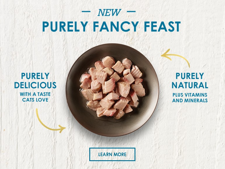 Free Purely Fancy Feast Sample