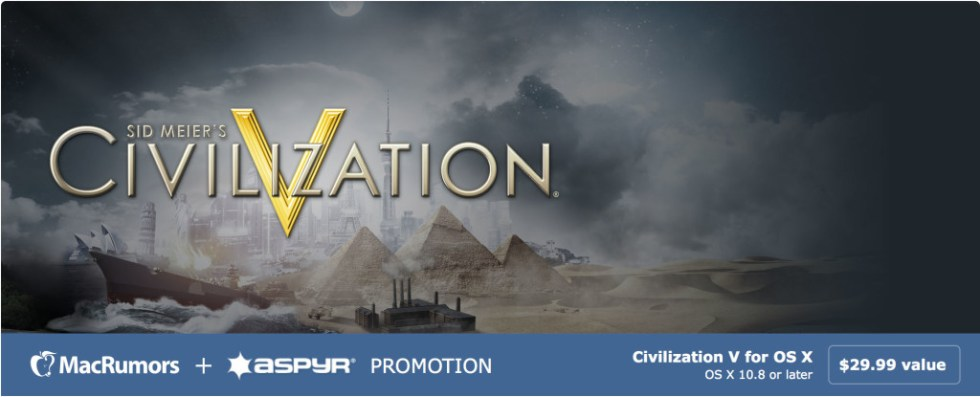 Free copy of Sid Meier's Civilization® V Campaign Edition