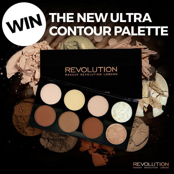 WIN NEW Ultra Contour Palette at Makeup Revolution USA