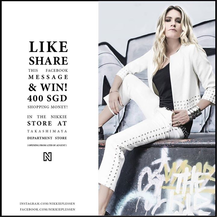 WIN a Nikkie Plessen shopping voucher worth SGD400