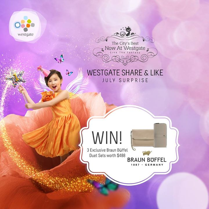 Win Braun Büffel Duet Set at Westgate Singapore