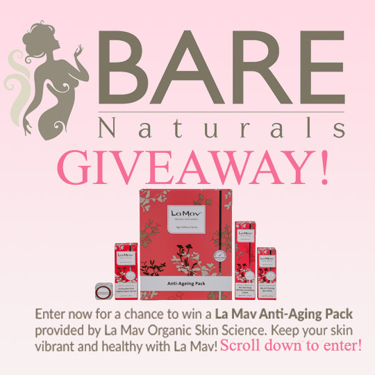 Bare Naturals and La Mav Giveaway