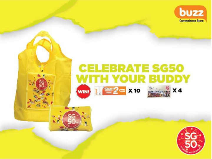 Celebrate SG50 with Buzz Singapore