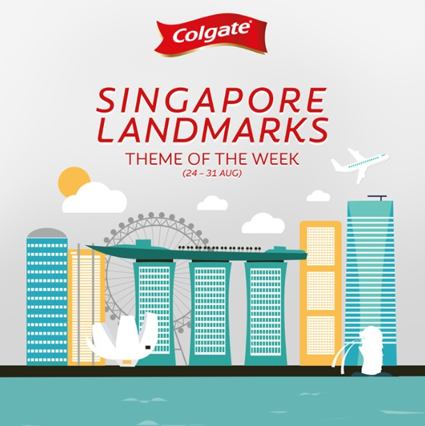Colgate's 50 years of Smiles Weekly Contest (Singapore Landmarks Theme)