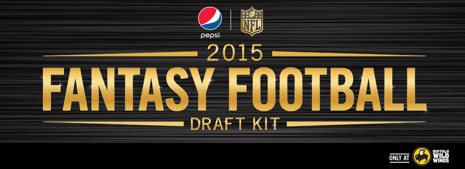 Pepsi Fantasy Football Sweepstakes at Buffalo Wild Wings®