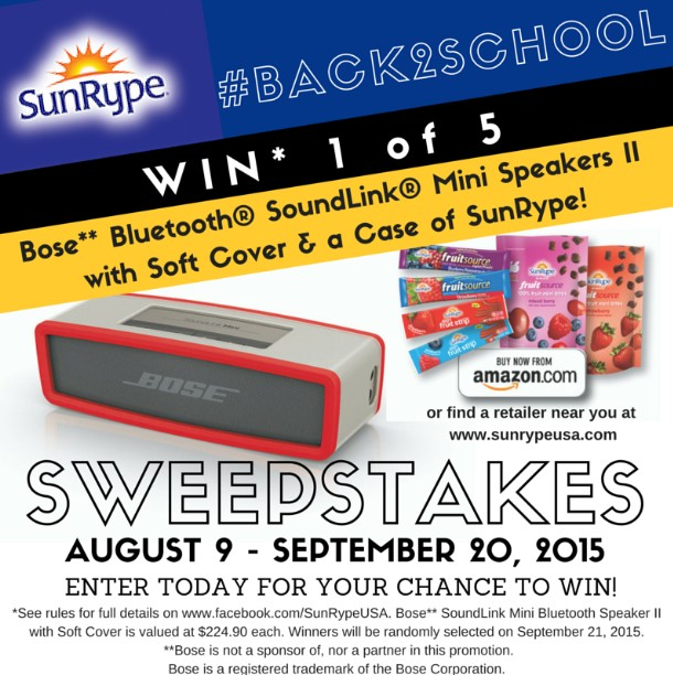 Win Bose Bluetooth SoundLink Mini Speakers II